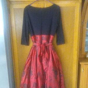 Burgundy Dress From Macys